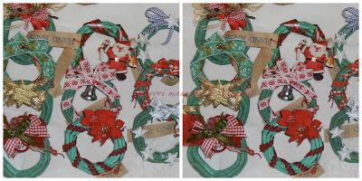 I lavori manuali di marina ghirlande in carta natalizie for Ghirlande di carta
