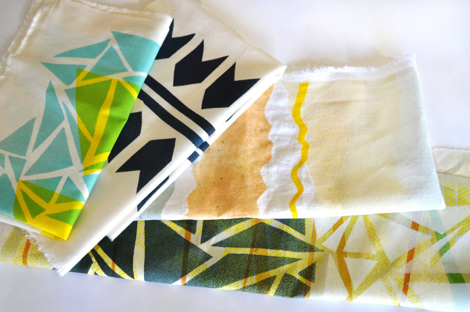 DIY : Print Your Own Fabric | Poppytalk