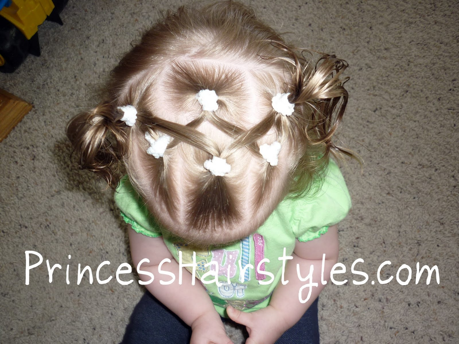 Baby Hairstyles  Criss Cross Pigtails  Hairstyles For Girls