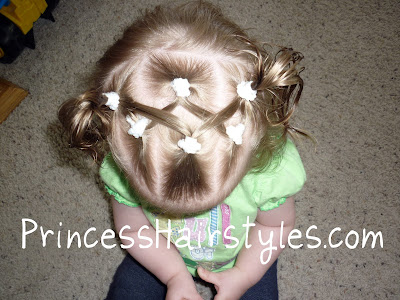 criss cross hairstyle for babies