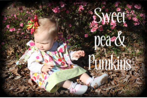 Sweet Pea and Pumkins
