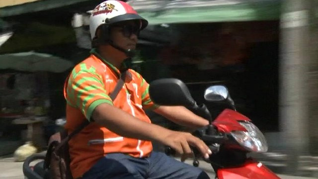 Kisah tukang ojek paling terkenal Thailand