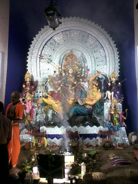 Durga Medha 2016 From Bhubana Bangala Chhaka, Dhenkanal - Photo By Gayadhar Das