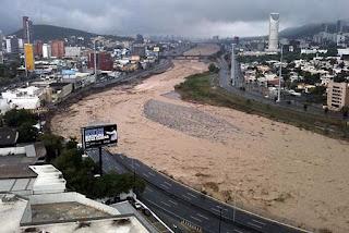 huracanes más devastadores Monterrey México