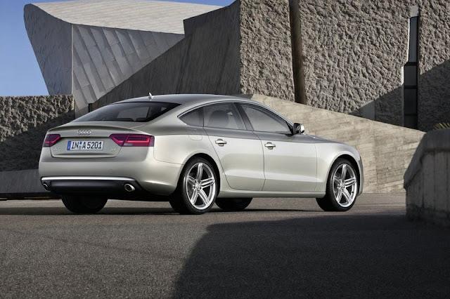 2012 Audi A5 Sportback Back Exterior
