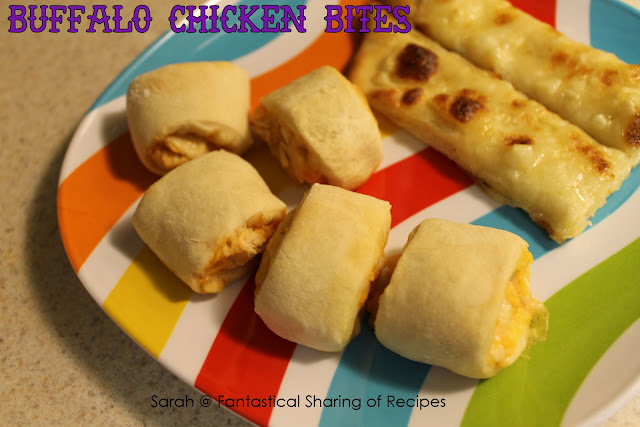 Buffalo Chicken Bites - the perfect, spicy appetizer for any occasion! #buffalo #chicken #appetizer #spicy