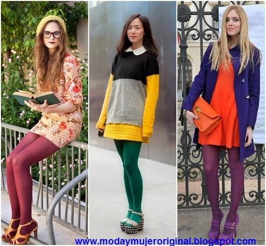 medias de colores para vestir en cualquier momento