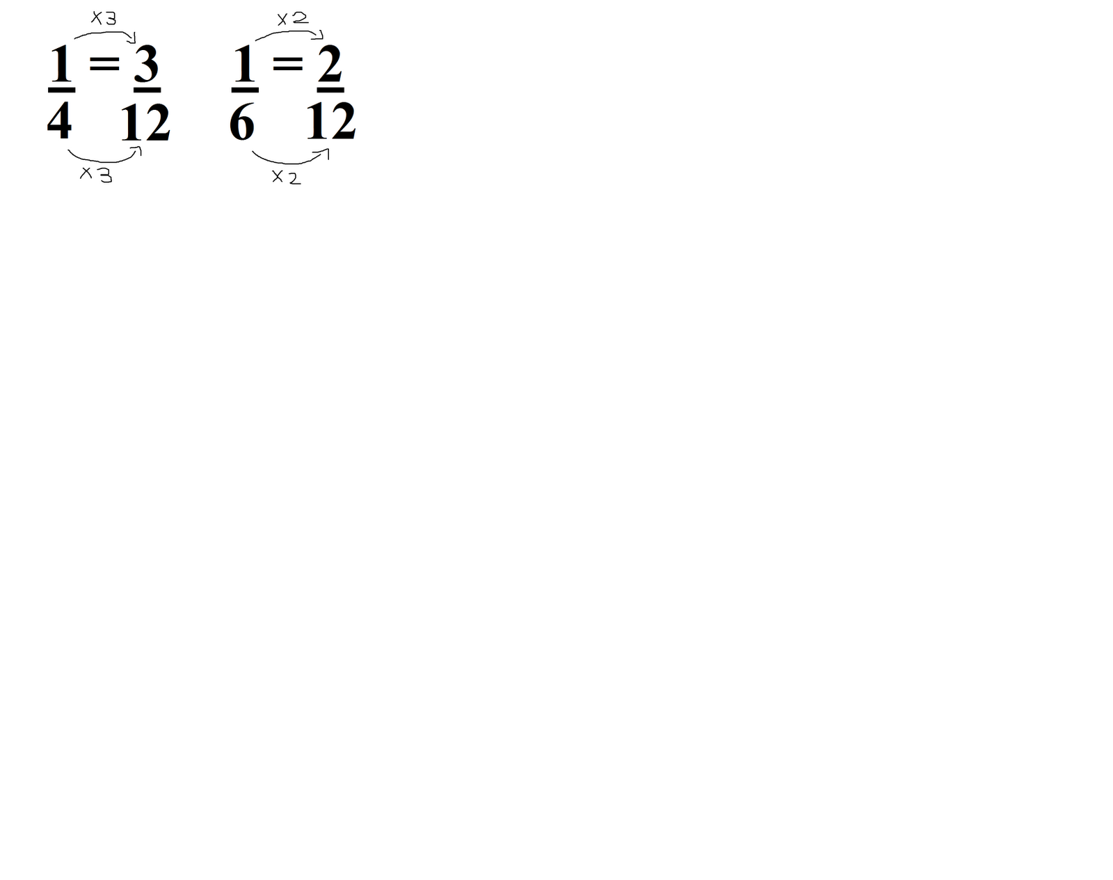 how to add fractions togehter