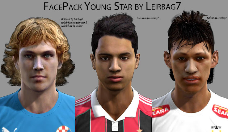 PES 2013 Young Stars Facepack by Leirbag7