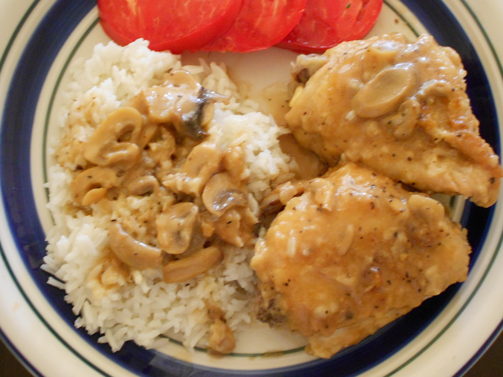 Chicken Thighs With Chanterelle Mushroom Sauce Recipes — Dishmaps