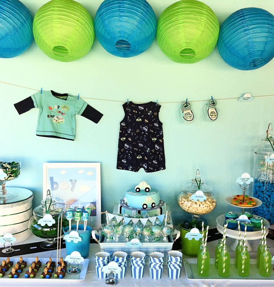 big company the blog car themed baby shower by candy land buffets