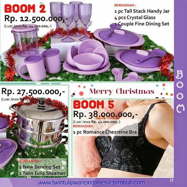 BOOM Twin Tulipware | November - Desember 2014