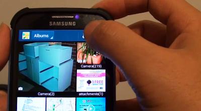 nuova cartella in galleria su Galaxy S6