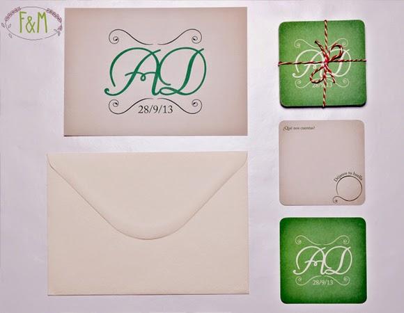 Diseño de invitaciones para bodas
