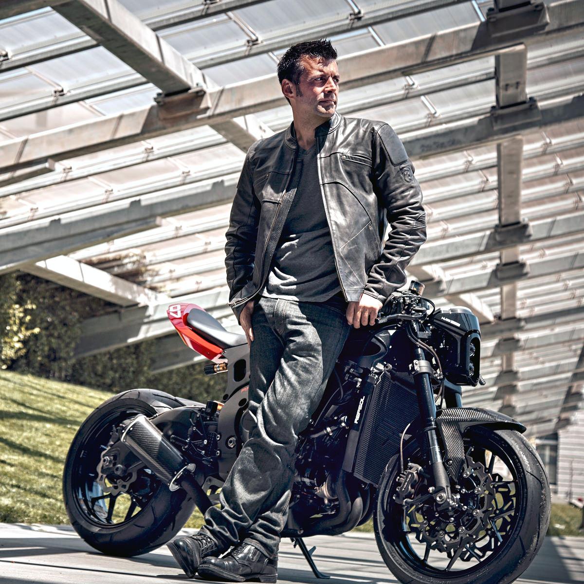 Huge Moto Custom Motorcycle Kit Rocketgarage Cafe