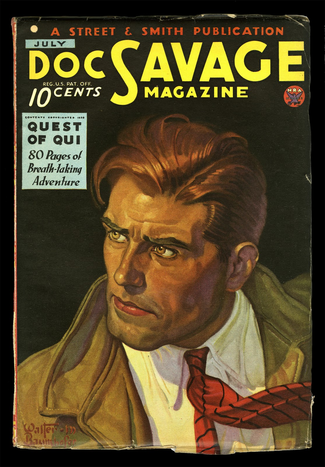 DOC SAVAGE #2, The Thousand-Headed Man by Kenneth Robeson