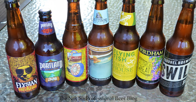 The Not So Professional Beer Blog Beer Run Summer Seasonals