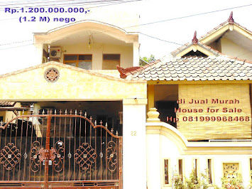 RUMAH MURAH DIJUAL/HOUSE FOR SALE