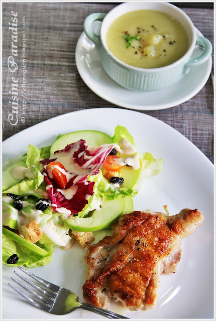 Cuisine paradise singapore food blog recipes reviews and if you prefer western food over asia dishes i hope this 2 dishes 1 soup idea on our western set meal do give you some ideas on how to prepare your own forumfinder Choice Image