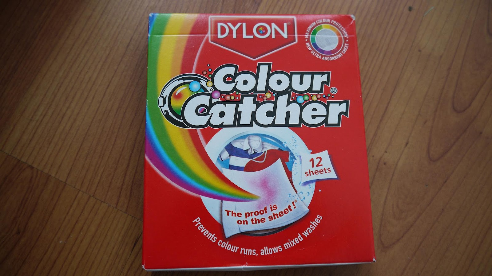 Colour catcher sheets - Mixed Load Laundry With Colour Catcher