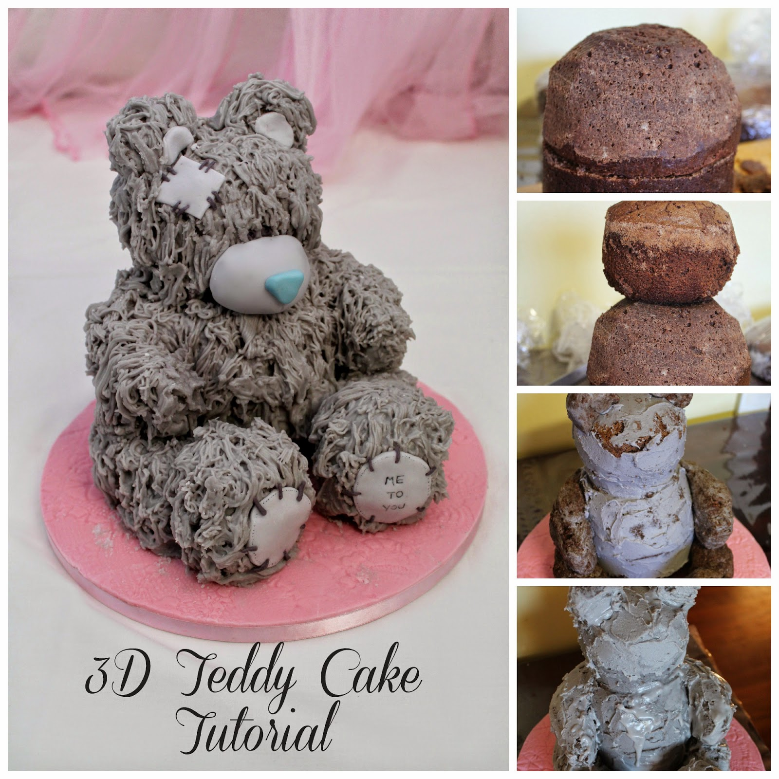 How to make a 3d monkey cake