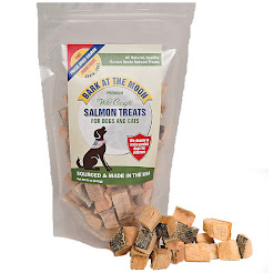 Freeze Dried Salmon TREAT - GREAT for Coat/ Skin