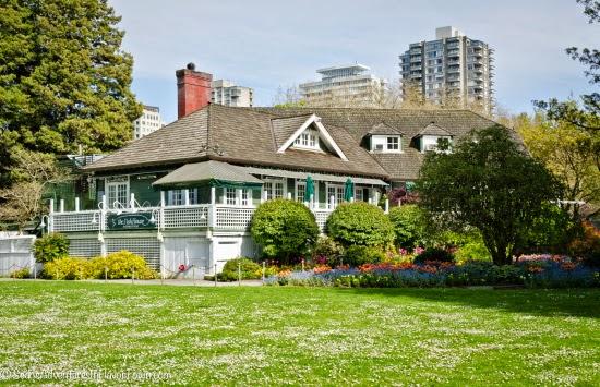 El Fish House dentro del Parque Stanley en Vancouver