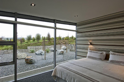 Bedroom with beautiful view