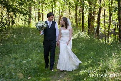 Thomas and Shaina after their wedding ceremony - Kent Buttars, Seattle Wedding Officiant