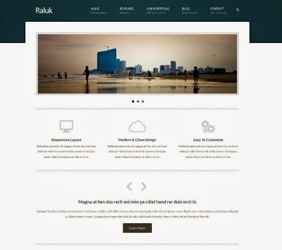 Raluk Responsive Business Theme
