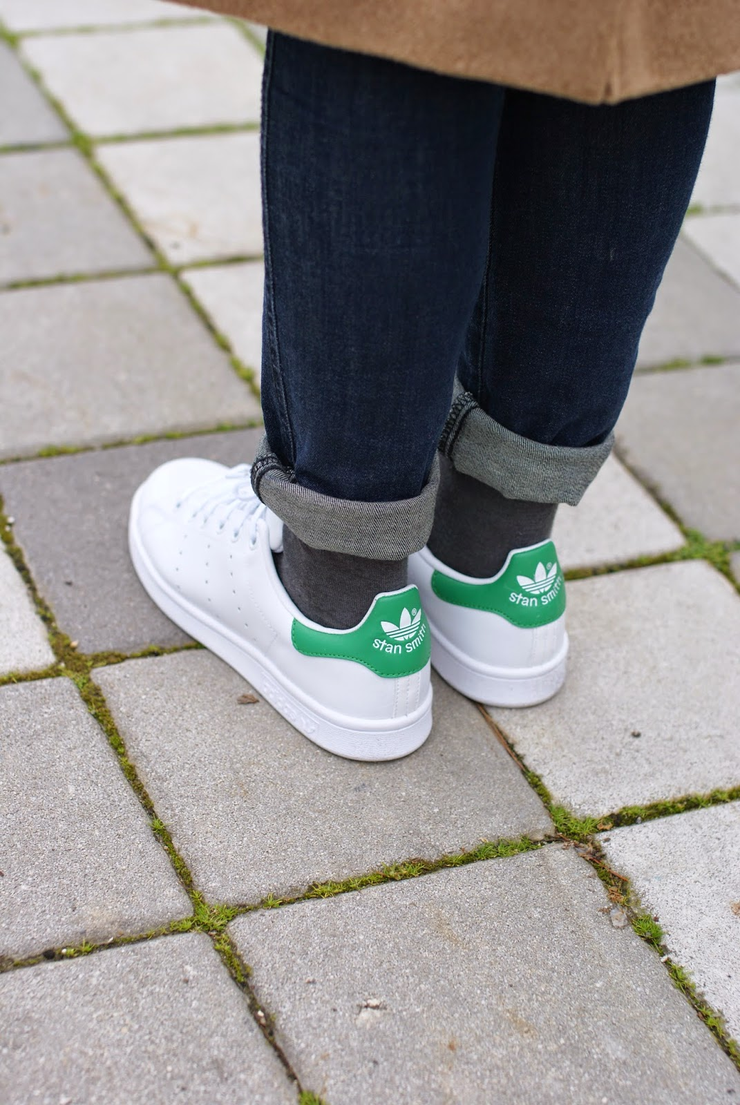 Adidas Stan Smith, Adidas Originals white green sneakers on Fashion and Cookies fashion blog, fashion blogger italiana
