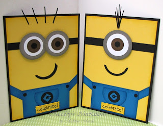 these wonderful minions, so popular from the Despicable Me movie