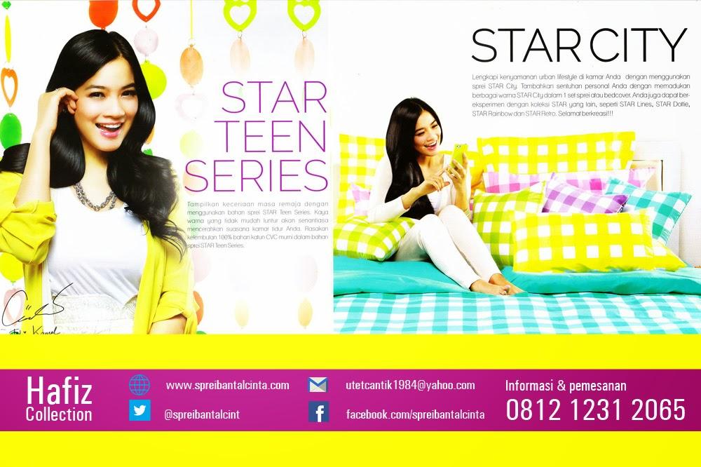 Toko Sprei Star-bedcover Star City-Teens Series-Hafiz Collection-karpet selimut-bantal-cinta Bogor-081212312065