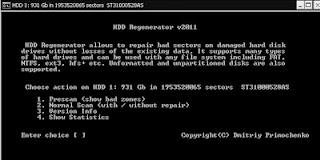 ScreenShot0094 হার্ডডিস্কের ব্যাড সেক্টর দূর করুন সহজেই
