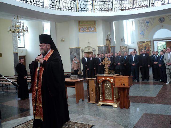 Молебень до Богородиці за Львівську владу служив єпарх Тернопільсько-Зборівський