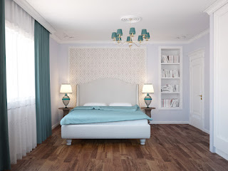 3d визуализация спальни. Батенин Валентин