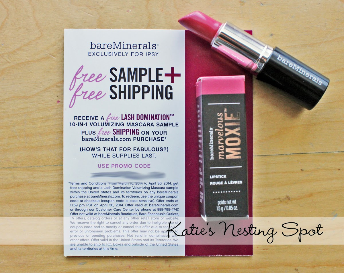 Katie's Nesting Spot: Ipsy March Glam Bag Review