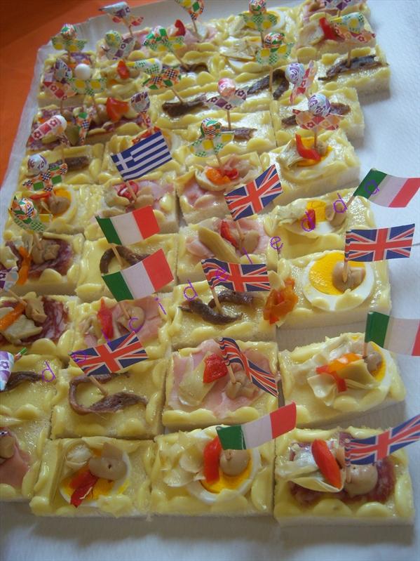 Conosciuto deledda's kitchen: buffet festa bambini 2 UW44