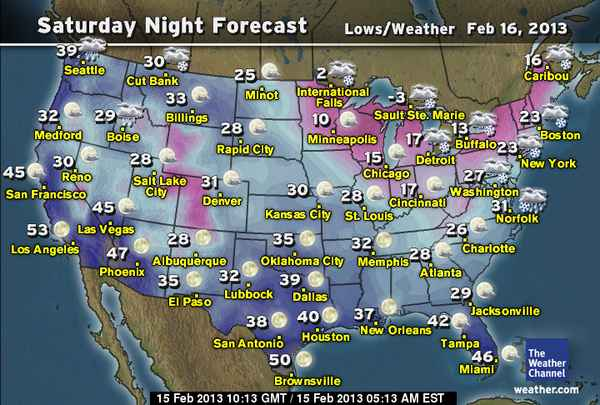 las vegas weather february