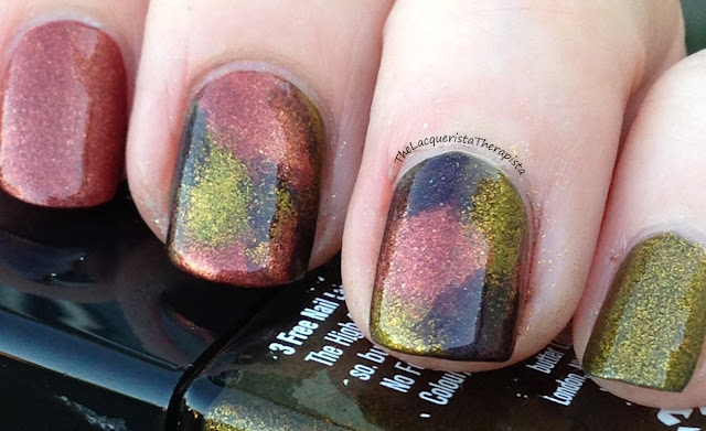 Sponged Fall Colors Butter London