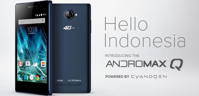 Harga HP Smartfren Andromax Q, Ponsel GSM CDMA Murah 1 Jutaan