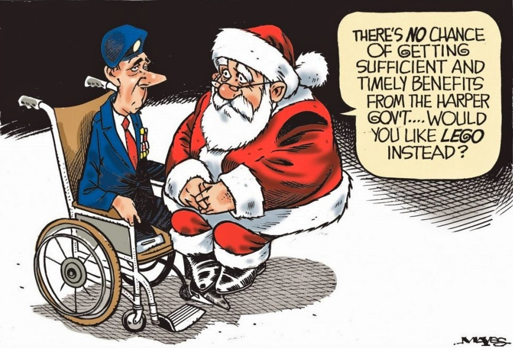 Malcolm Mayes: Veterans Christmas.