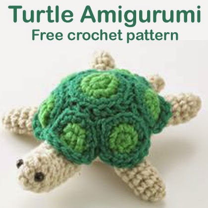 Free Crochet Pattern Turtle : Crochet For Children: Turtle Amigurumi