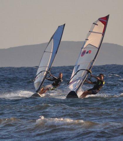 windsurfing in bodrum-turkey