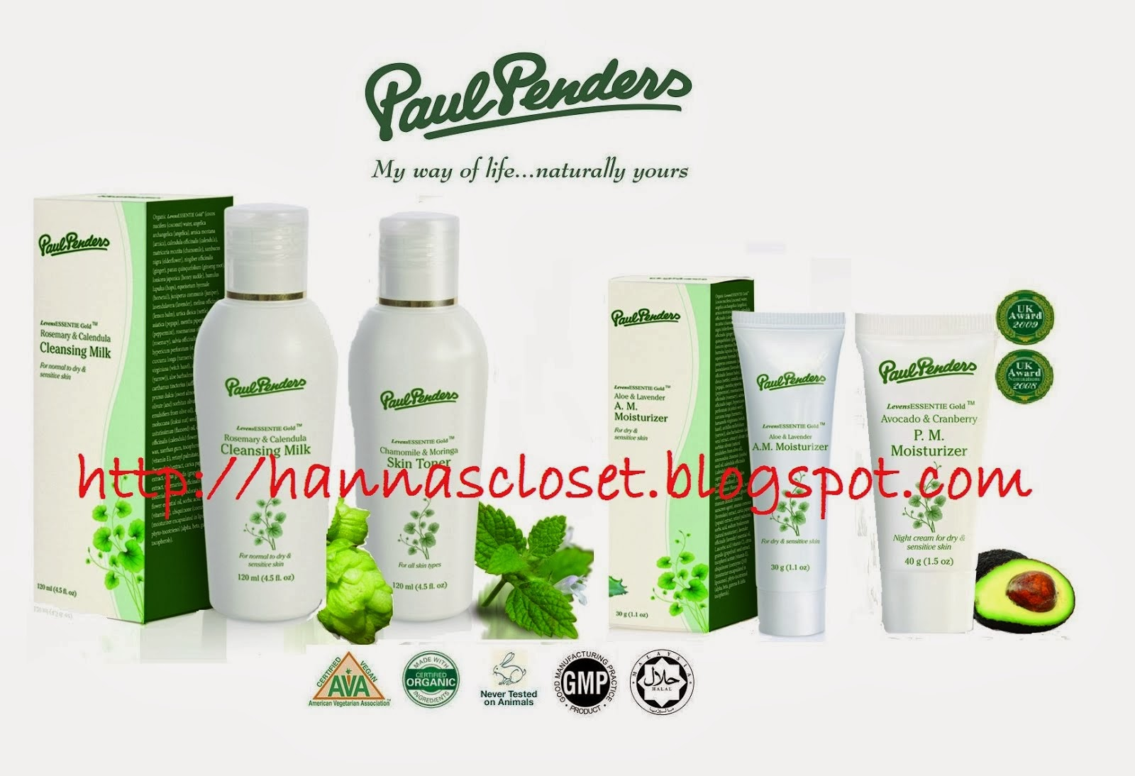 [NOW AVAILABLE] Paul Penders Skincare, 100% Natural, Organic and Halal