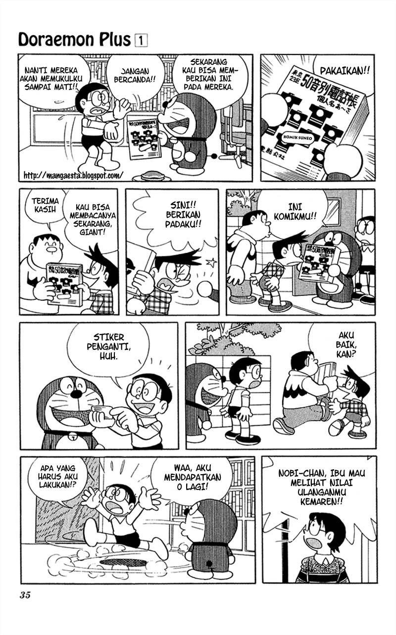 Baca Komik Doraemon Plus Vol 1 Chapter 004 - Halaman 03