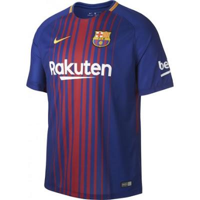 2017-2018 BARCELONA FC SHIRT
