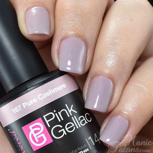 Pink Gellac Pure Cashmere Swatch