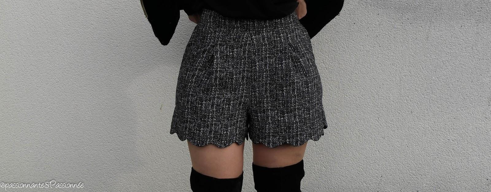 comment porter le short en hiver