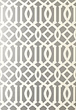 Schumacher Imperial Trellis Silver 5003362